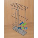 Magasin de détail Affichage sur le fil de métal Rack Enveloppements de cadeau de support de rouleau (PHH117A)