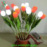 Künstliches LED-Blumen-Licht für Weihnachtsdekoration