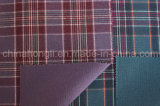 Hilado teñido de Poli/tela de rayón, de una cara cuadros escoceses, 230 gramos