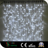 2mx3m 600 LED-Weihnachtsweißer Vorhang-feenhafte Zeichenkette-Lichter