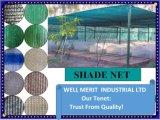 Los desechos de plástico de compensación de la sombrilla Net Net Anti-Hail Toldo de Vela y la red para atrapar insectos de compensación de la construcción