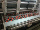 自動4つのカラープリンターSlotterはカートンボックスのためのダイカッタ機械を