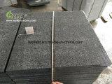 Telhas de assoalho cinzentas escuras Polished 60X60 do granito