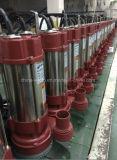 Bomba submergível (suja) 1.1kw da água de esgoto dos TERMAS, fase monofásica