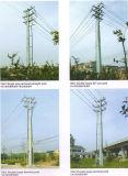 doppio Circult acciaio Palo di energia elettrica di 10kv