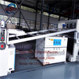 Ligne de production de moussage sans PVC Machine de fabrication de plastique en bois Machine en plastique Machine de production de tableaux Chevron Chevron Board Machines Chevron Board M
