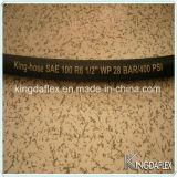 SAE 100 R3 R6 hydraulique flexible en caoutchouc flexible en caoutchouc