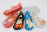 De mooie Gelei Sandals van de Pantoffel van pvc Transparante voor Meisjes (24ja1625)