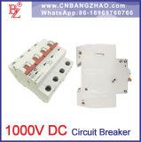 Interruptor 10A 25A 32A 63A Circuito de DC para el sistema 1000 V PV