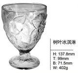 テーブルウェアSdy-F00439のための円形の整形アイスクリームのコップのデザートのガラス・ボール