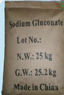 Gluconato de sódio em pó de elevada pureza aditivos químicos