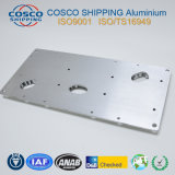 Profil en aluminium extrudé personnalisés avec l'usinage CNC (ISO9001 : 2008)