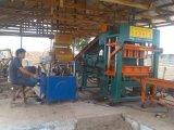 оборудования для изготовления бетонных блоков, филиал в Африке (QT5-20)