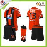 Fútbol tailandés sublimado Jersey modificado para requisitos particulares de la calidad de la camisa barata del balompié del fútbol del cabrito