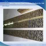 Plaque de décoration Gravure en acier inoxydable