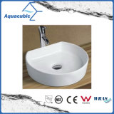 خزفيّة خزانة فنية حوض وتفاهة يدوية علويّة يغسل بالوعة ([أكب8192])