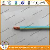 Chaqueta de nylon del aislante del PVC 600 voltios cable de Thwn o de Thhn con la UL enumerada
