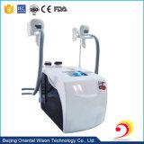 4 poignées RF Cryolipolysis ultrasonique de dépression de la cavitation de la machine de perte de poids