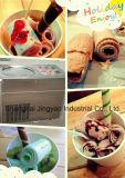 Les alevins de la crème glacée, plat d'application de la crème glacée la machine