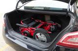De vouwbare Rolstoel Met drie wielen van de Batterij van het Lithium van de Macht van Lite van het Aluminium Elektrische voor Verkoop