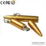 De gouden Aandrijving van de Flits van de Vorm USB van de Kogel