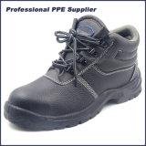 China barata de cuero de búfalo Zapatos de seguridad para los trabajadores