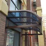 El pabellón de aleación de aluminio de la cortina de la azotea del toldo, vertiente de Sun, lluvia vertió para Vilia