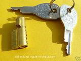 Het Slot van de Cilinder van het messing, het Slot van de Aanhangwagen, Klein Slot al-1104 van Collectoren