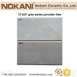 Mattonelle di ceramica grige delle mattonelle di pavimento del cemento di colore per esterno commerciale