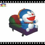 Conduite électrique Doraemon de Kiddie d'enfants de machine de jeu d'oscillation de fibre de verre