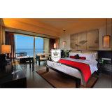 ホテルの二重寝室の黒檀の中国の寝室の家具
