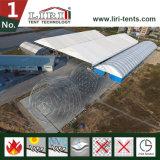 공장과 창고로 큰 알루미늄 큰 다각형 천막