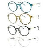 Het recentste Nieuwe Optische Frame van het Oogglas Eyewear van Ultem van het Ontwerp Plastic met Slank Roestvrij staal B7055
