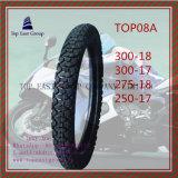 Lange Lebensdauer des Nylon-6pr, Qualitäts-Motorrad-Gummireifen 300-18, 300-17, 275-18, 250-17