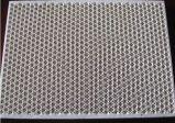 Piastra di riscaldamento catalitica del piatto di ceramica infrarosso del favo della cordierite