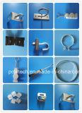 Кронштейн Поляк горячего DIP гальванизированный стальной для штуцеров FTTH/FTTH