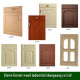 Peças de armário de cozinha Película de PVC de termómetro MDF Core Cupboard Door