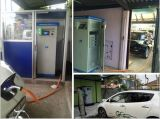 Im FreienEV Charger Charging Station mit Chademo