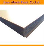 A superfície plana da placa em acrílico de Plexiglas 48'x96''