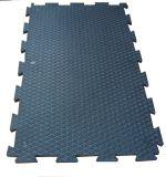 La stuoia di gomma, la stuoia di gomma di collegamento di agricoltura del cavallo, mucca Horseanti-Slitta la stuoia del pavimento del PVC
