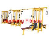 Forma fisica, strumentazione di ginnastica, Strumentazione-Multi-Giungla della costruzione di corpo (campione 12-Stack diritto) (PT-933)