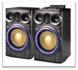 無線倍10インチBluetoothおよび多彩なライトが付いている専門タワーのスピーカー