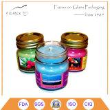 Mason frascos con tapas, los titulares de velas votivas
