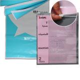 Emballage refermable sac en plastique imprimé Zip