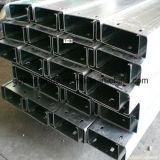 Canal de acero del HDG C con los orificios