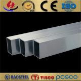 A caixa de alumínio da extrusão 6061 6063 T6 seciona a câmara de ar quadrada