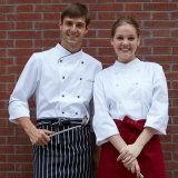 요리사 의류 봄 대중음식점 호텔 최고 수석 요리사 제복