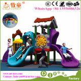 De buiten Speelplaats van de Jonge geitjes van het Speelgoed van het Spel Plastic Openlucht voor Peuterklas