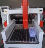 Máquina inoxidável da gravura em aço do metal de madeira do router do CNC