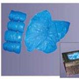 Esd-nichtgewebter Schuh-Deckel (LH-144), CPE-Wegwerfschuh-Deckel